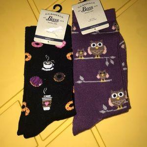 Nwt Bass cute socks 🧦